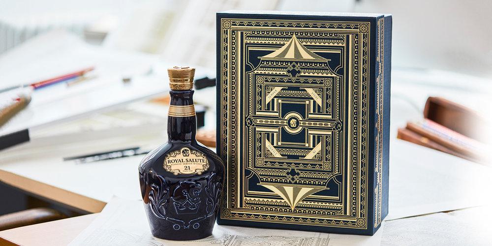 El whisky escocés Royal Salute muestra su nuevo paquete de edición limitada