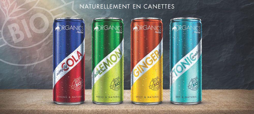 Organics by Red Bull, Red Bull entra a competir en refrescos premium