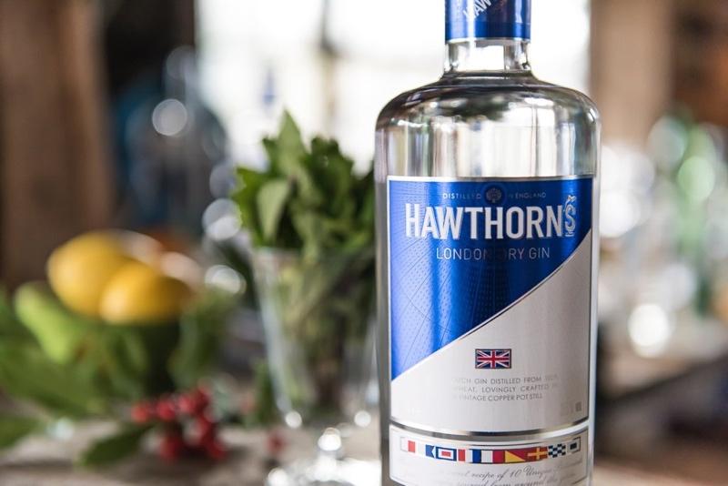 Hawthorn's Gin, suave y delicado sabor para una ginebra única
