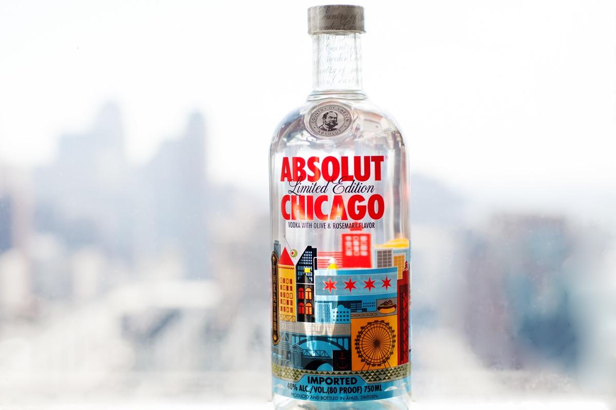 Absolut sorprende con su edición limitada para la ciudad de Chicago
