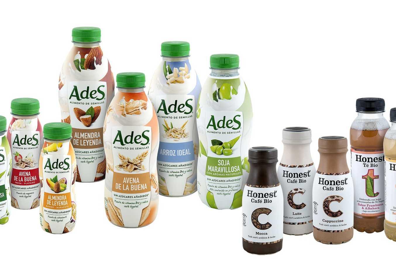 Coca-Cola apuesta por las bebidas vegetales y ecológicas con 'AdeS' y 'Honest'