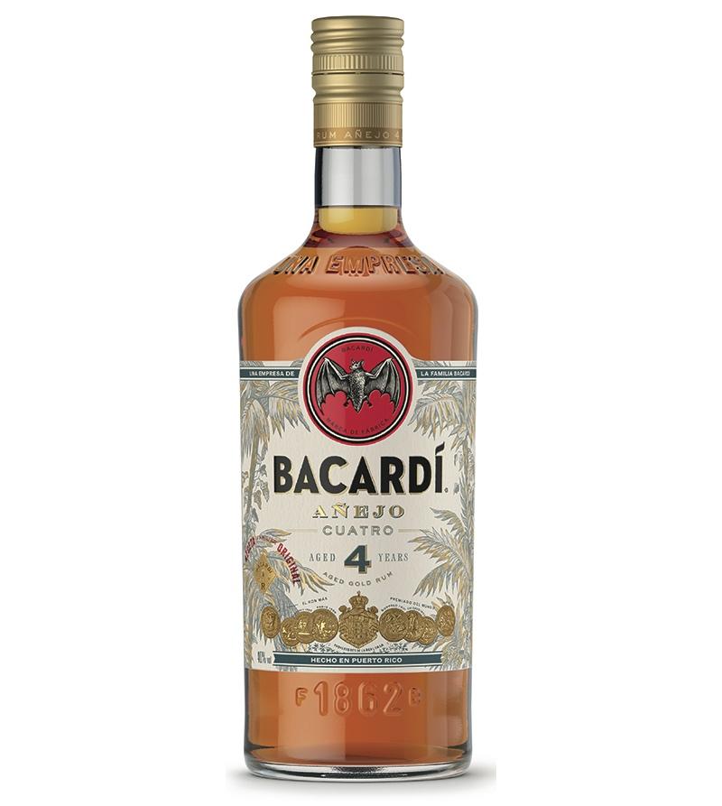 Bacardi busca un posicionamiento superior con nuevos rones, Bacardi Añejo 4 y Bacardi Gran Reserva 10