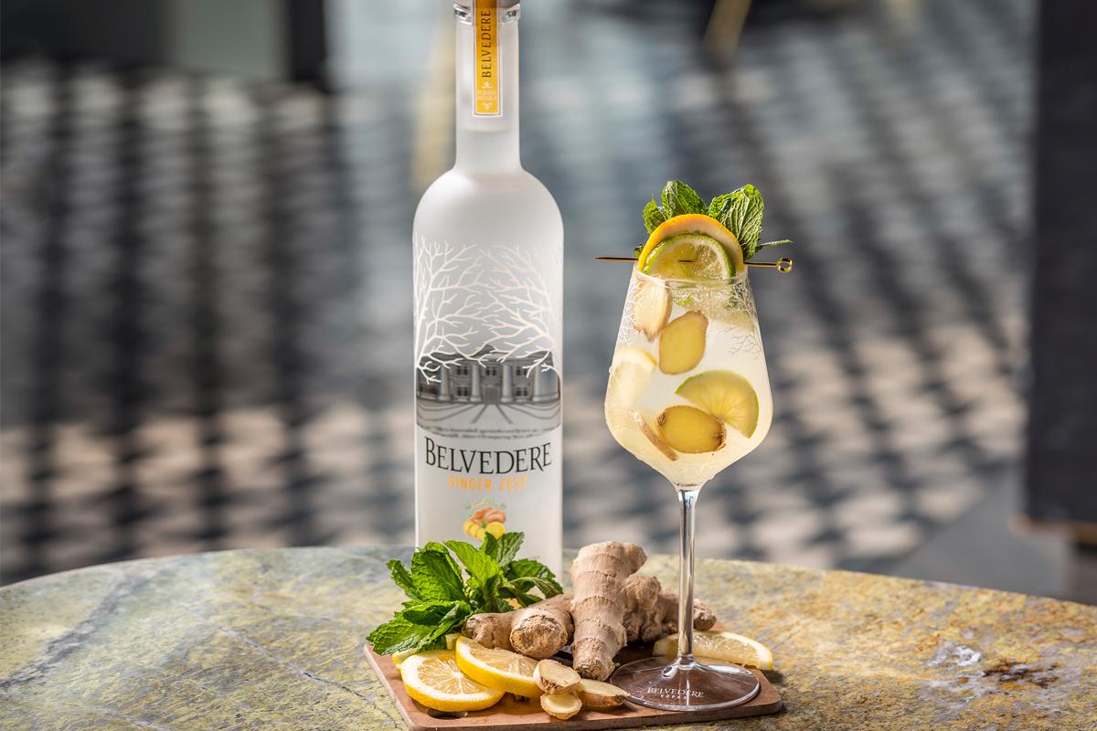 Belvedere presenta el vodka con sabor a jengibre Ginger Zest