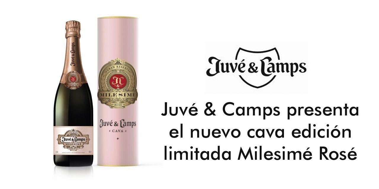 Juvé & Camps presenta Milesimé Rosé 2011, cava edición limitada