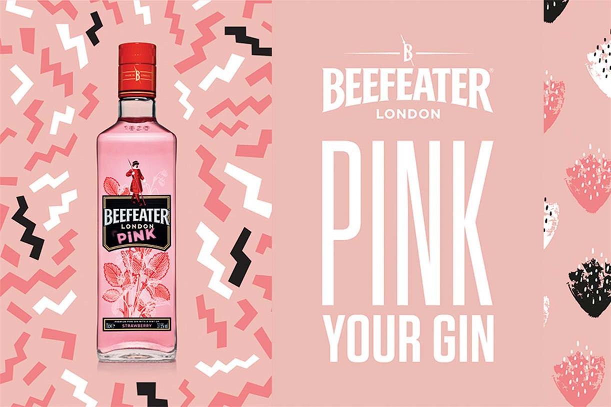 """Beefeater les dice a los consumidores que """"hagan rosa su ginebra"""" con Beefeater Pink"""