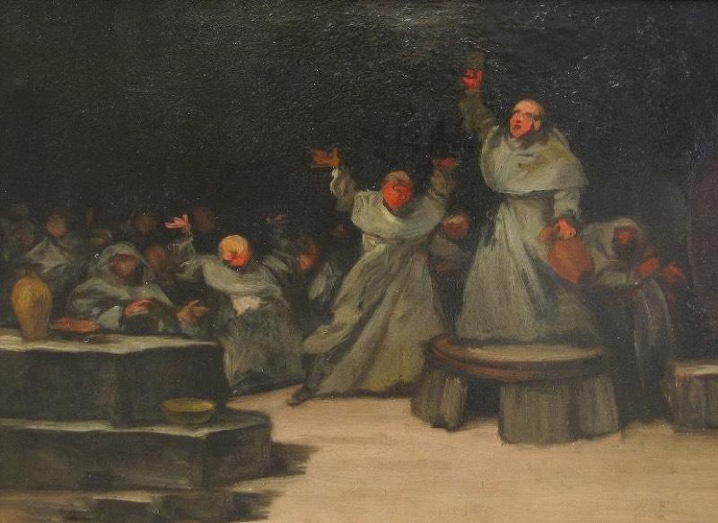 """""""¡Viva el vino!"""" (1850-1870), de Eugenio Lucas Velázquez"""