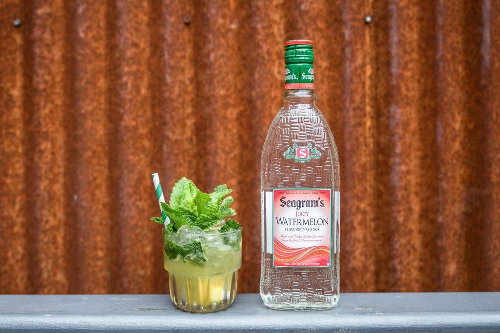 Seagram's lanza Juicy Watermelon, vodka con sabor a sandía