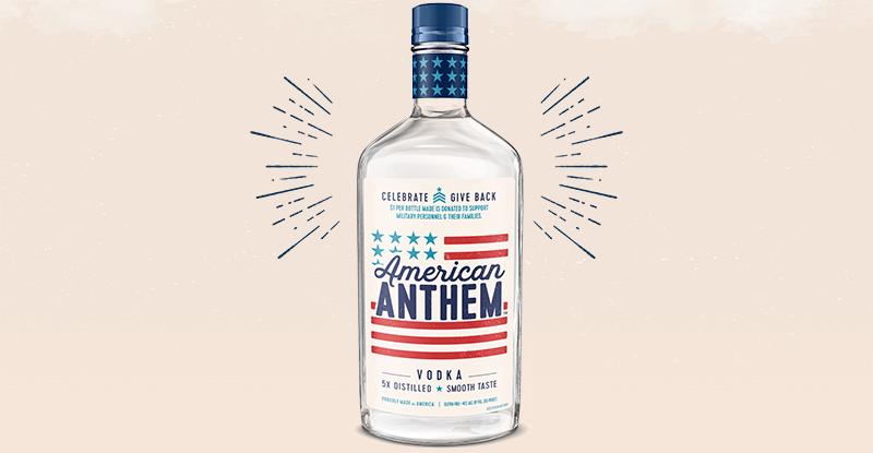 Diageo lanza el vodka American Anthem para celebrar el espíritu estadounidense