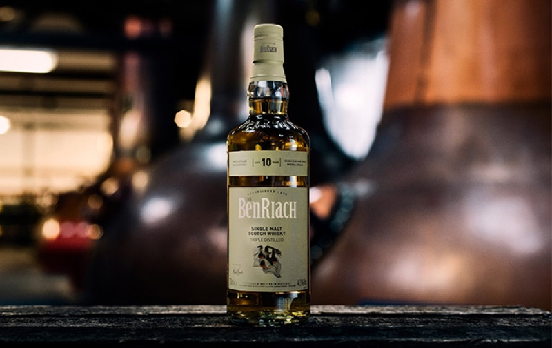 BenRiach presenta un exclusivo whisky de 10 años para el mercado global de viajes