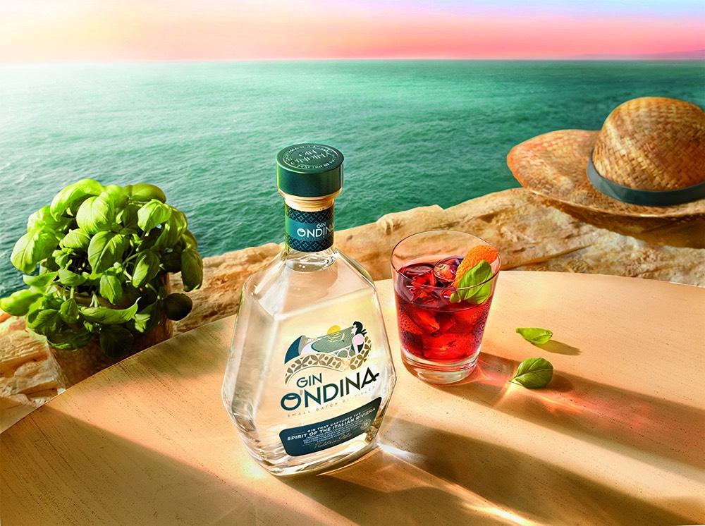 Campari presenta la ginebra super-premium O'ndina
