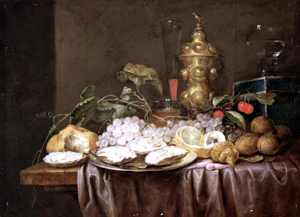 """Naturaleza muerta"" (1643-1667), de Joris van Son"