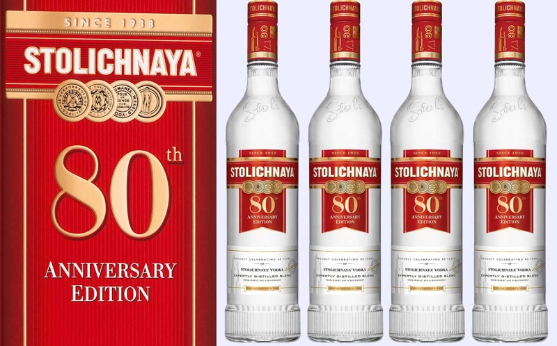 Stoli estrena edición limitada del vodka de su 80º aniversario