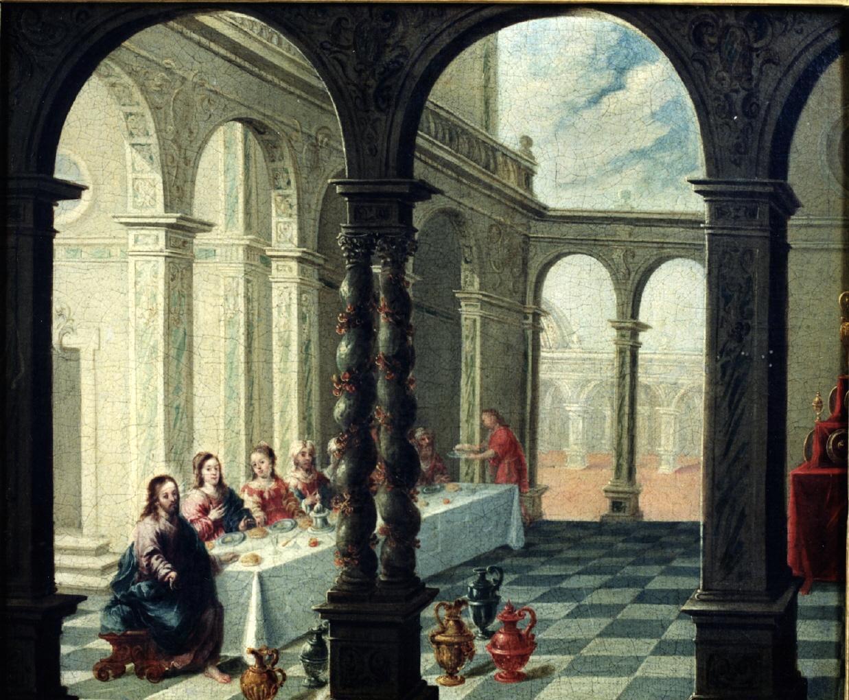 """Las Bodas de Canaá"" (1676-1700), de Matías de Arteaga y Alfaro"