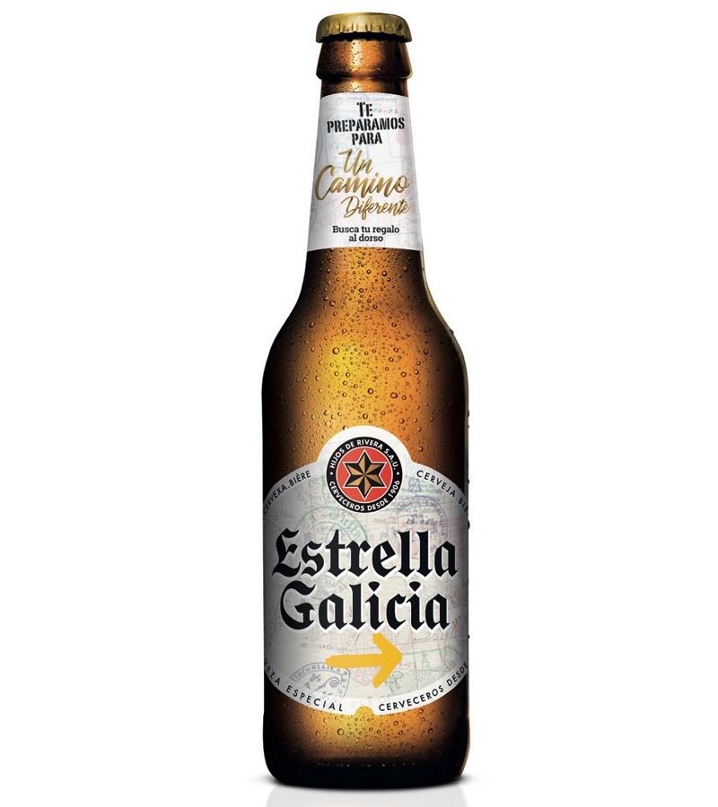"""'Estrella Galicia' presenta una edición especial dedicada al Camino de Santiago, """"Un Camino Diferente"""""""