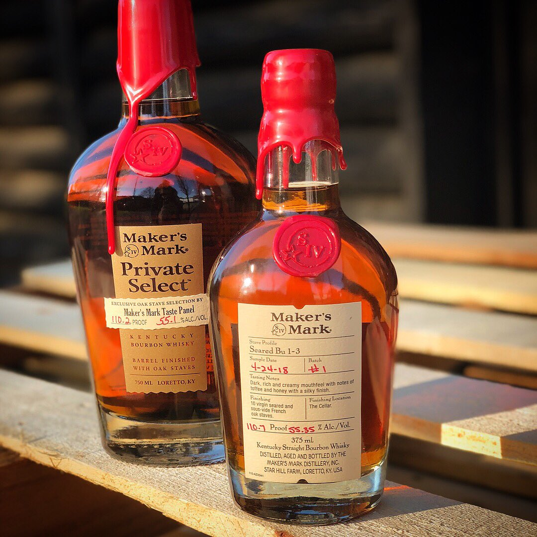 Maker's Mark presenta la edición limitada Seared Bu 1-3 Bourbon
