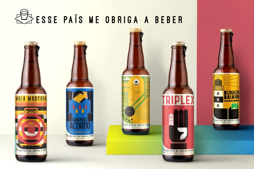 Este país me obliga a beber, por Pevê Azevedo