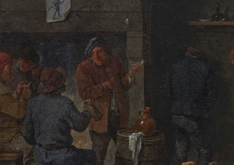 """""""Escena de taberna"""" (hacia 1640), de David Teniers el Joven"""