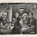 GOGH, Vincent van_Campesinos comiendo patatas, 1885_558 (1975.9)