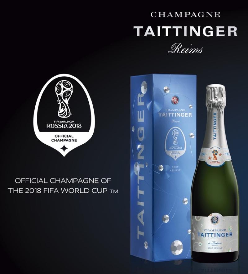 'Taittinger' invita a brindar por el Mundial de Fútbol Rusia 2018