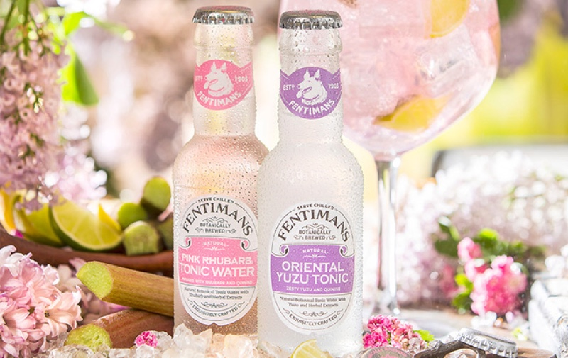 Fentimans lanza dos nuevas tonic water, Pink Rhubarb y Yuzu Oriental