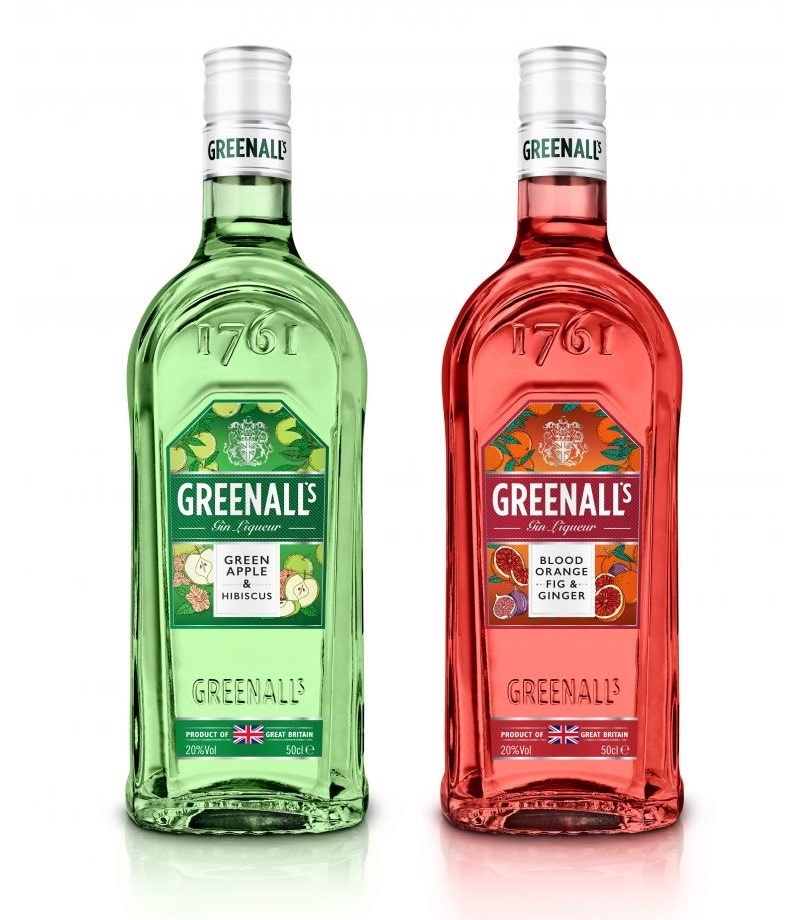 Greenall's Gin presenta dos licores de ginebra aromatizados