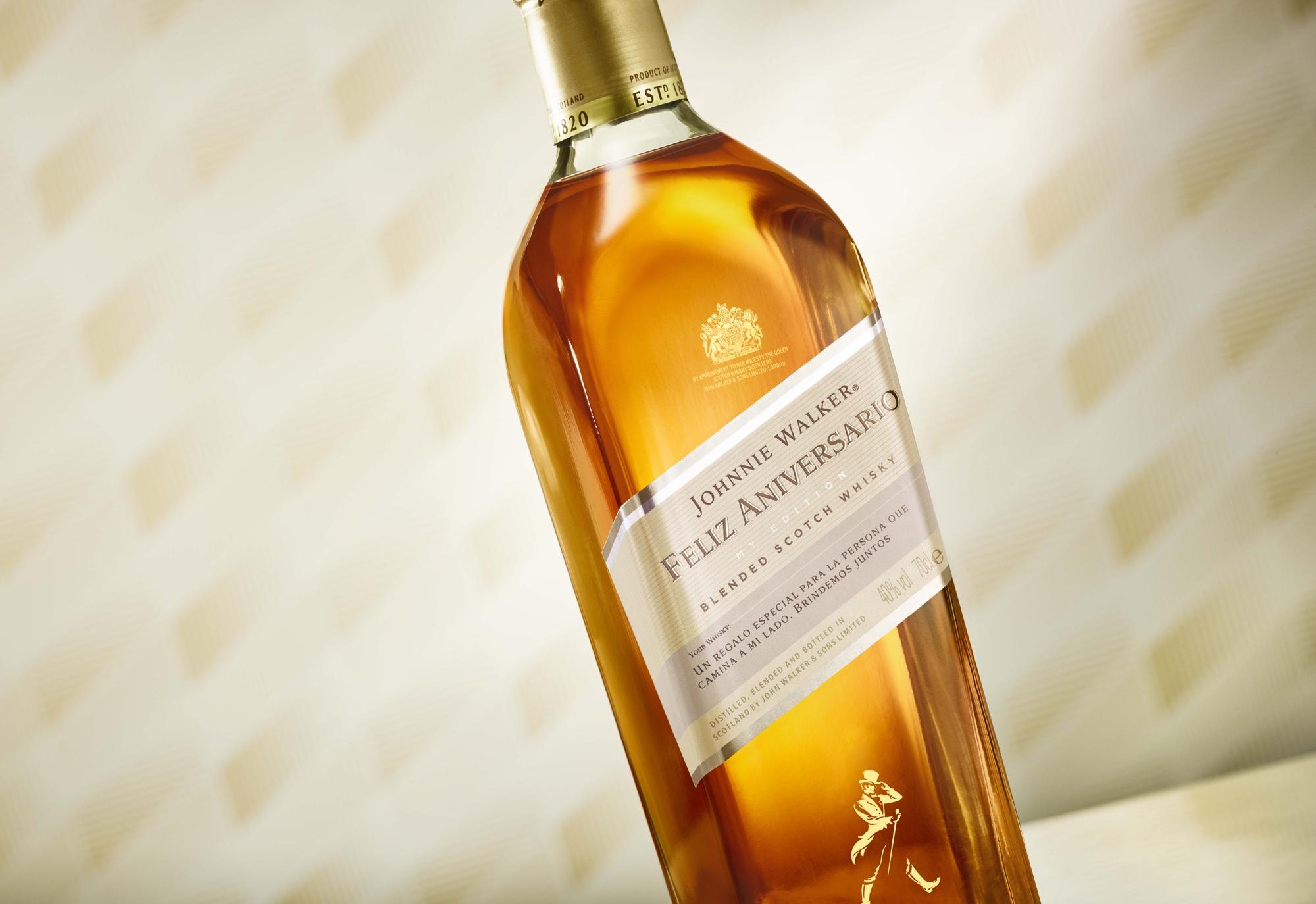 Johnnie Walker ofrece whiskies personalizados con Johnnie Walker My Edition