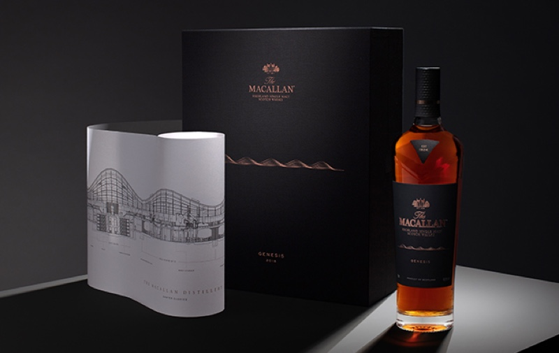 The Macallan lanza la edición limitada del whisky Genesis Limited Edition