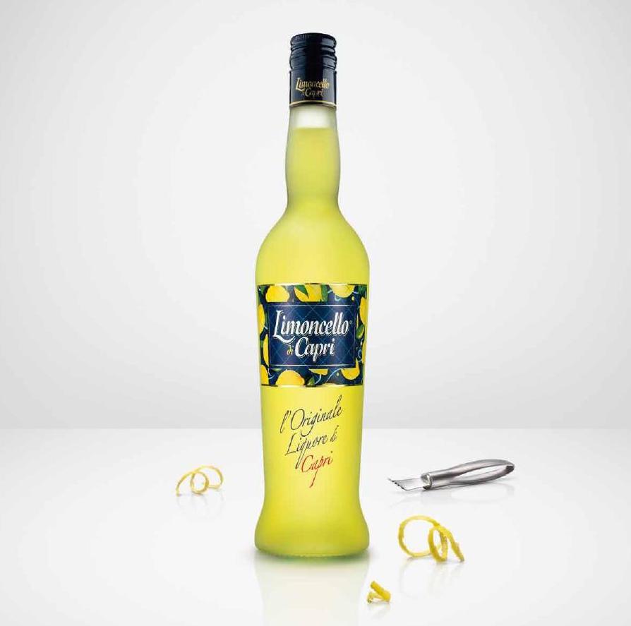 Botella de Limoncello di Capri