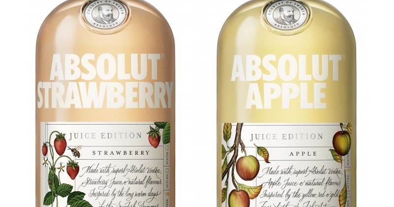 Absolut innova con Absolut Juice Edition en el Reino Unido
