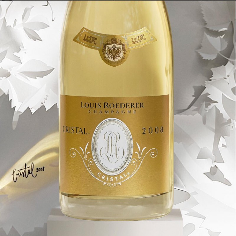 Louis Roederer trae a España el champagne Louis Roederer Cristal 2008