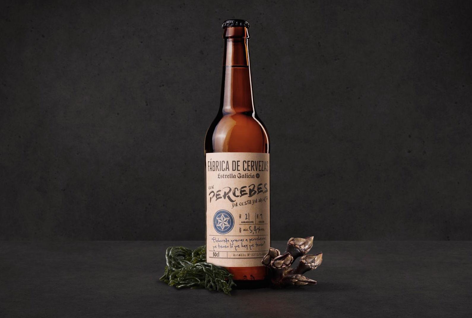 Fábrica de Cervezas Estrella Galicia edición Percebes da Costa da Morte, homenaje a la valentía de los percebeiros