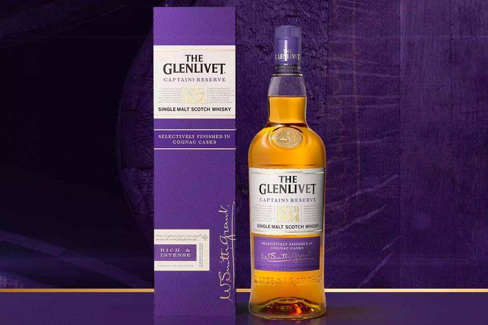 Glenlivet presenta Captain's Reserve, el primer whisky con barril de coñac