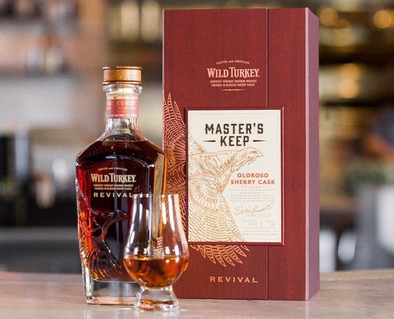 Wild Turkey lanza la edición limitada Master's Keep Revival