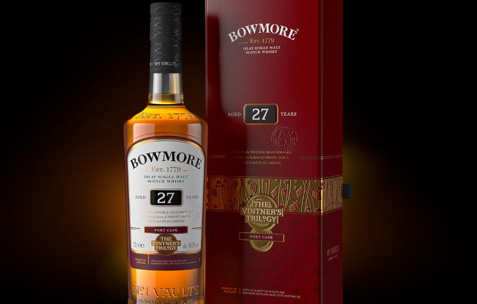 Bowmore 27 Year Old completa la trilogía de Vintner