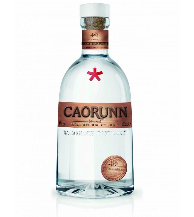 Caorunn crea Gin Master's Cut, la ginebra de más alta graduación para el mercado minorista de viajes