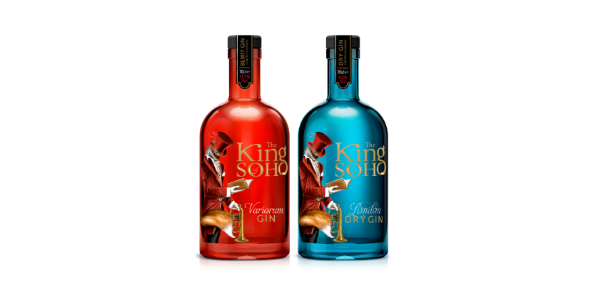 King of Soho lanza la ginebra rosa Variorum