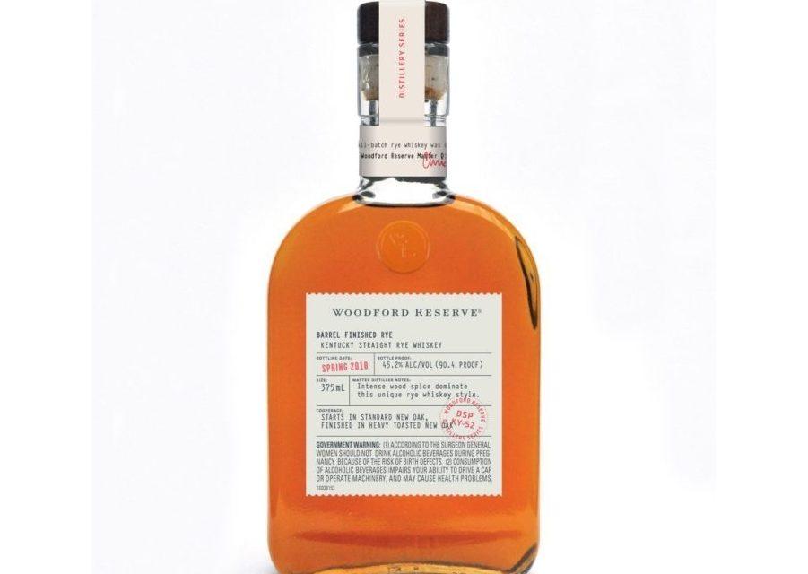 Woodford Reserve añade centeno terminado en barril a Distillery Series