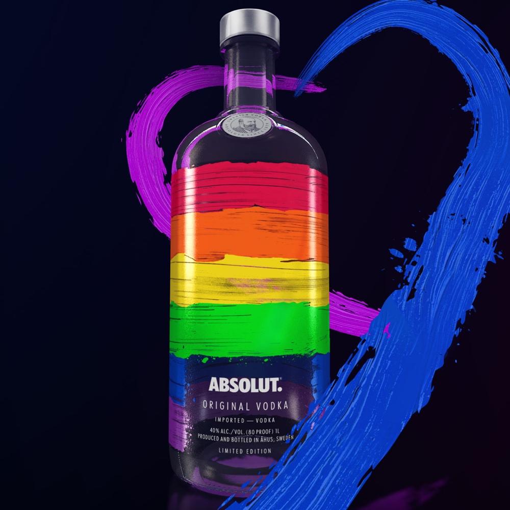Absolut apoya a la comunidad LGBTQ con el lanzamiento de Absolut Rainbow