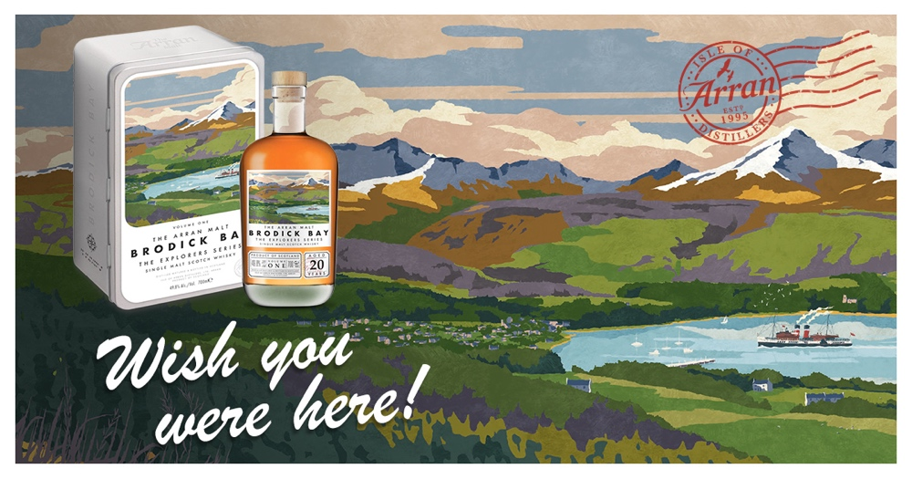 Isle of Arran revela sus nuevos whiskies con la serie Exploradores