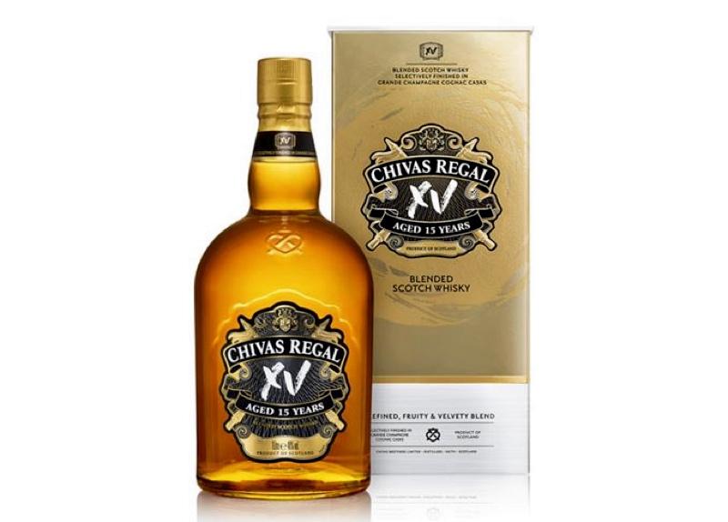 Pernod Ricard lanza Chivas XV, whisky con acabado en coñac
