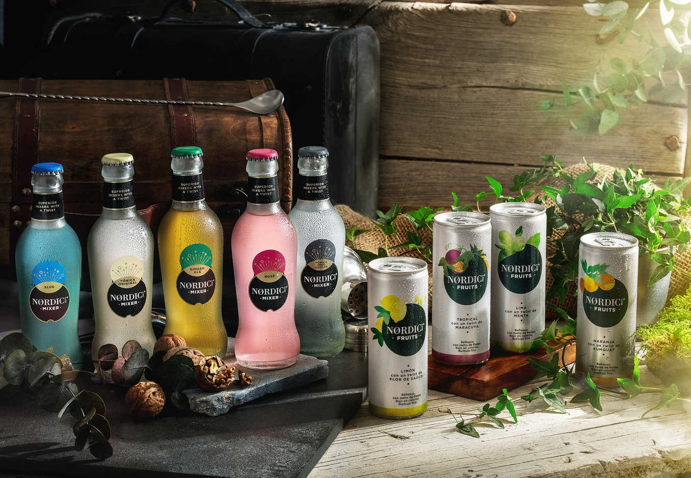 Coca-Cola renueva y amplía gamas y sabores en 'Nordic Mist' y 'Sprite'
