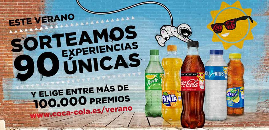 """Coca-Cola lanza """"Consigue el verano de tu vida"""", una promoción multimarca en siete países europeos"""