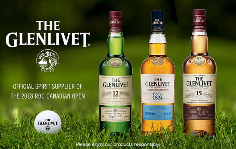 Glenlivet renueva su alianza con Golf de Canada en 2018