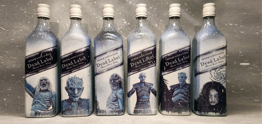Johnnie Walker lanzará el nuevo whisky de 'Game Of Thrones' con White Walker