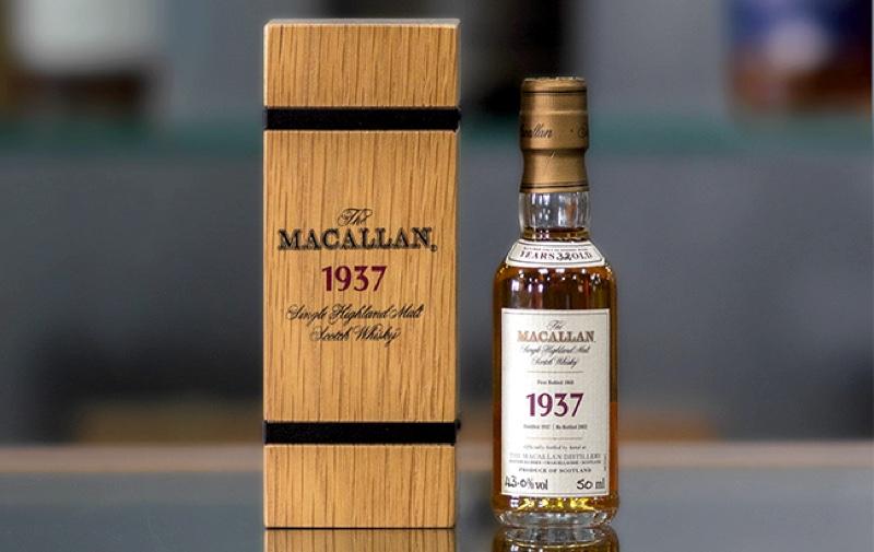 Una miniatura de Macallan de 32 años podría venderse por 1.000 libras en una subasta