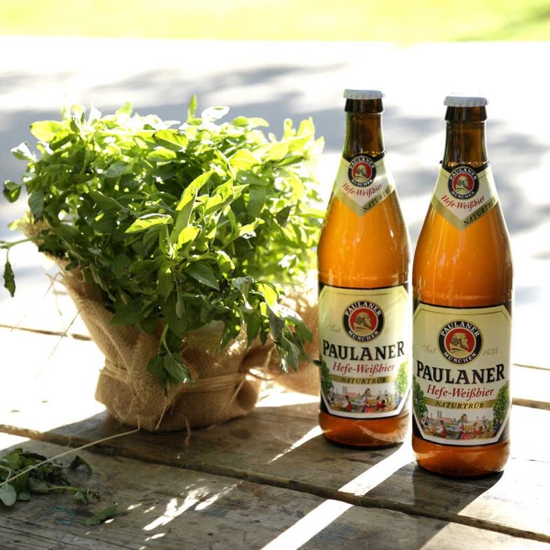 'Paulaner' inaugura su primer jardín de la cerveza Biergarten en Madrid