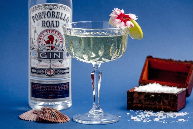 Portobello Road Gin Navy Strength, una ginebra con toda la fuerza naval