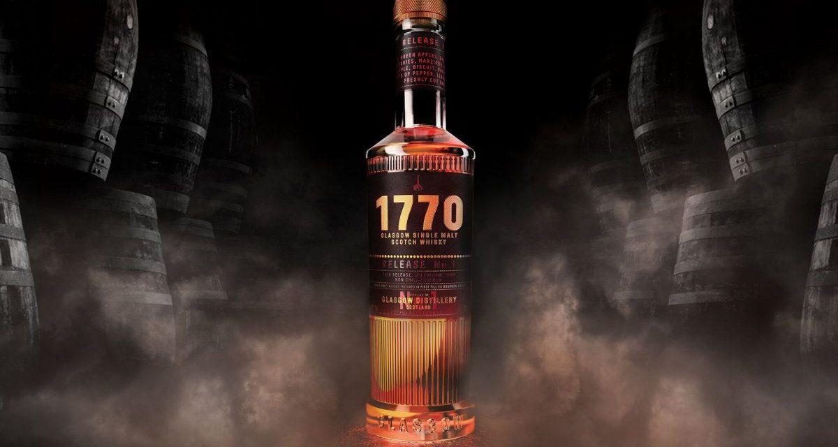 Glasgow Distillery presenta el diseño de la botella 1770