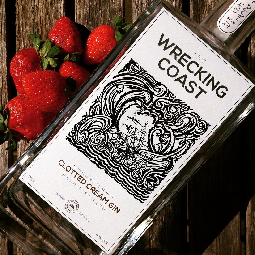 Wrecking Coast Distillery Scurvy Gin Navy Strength
