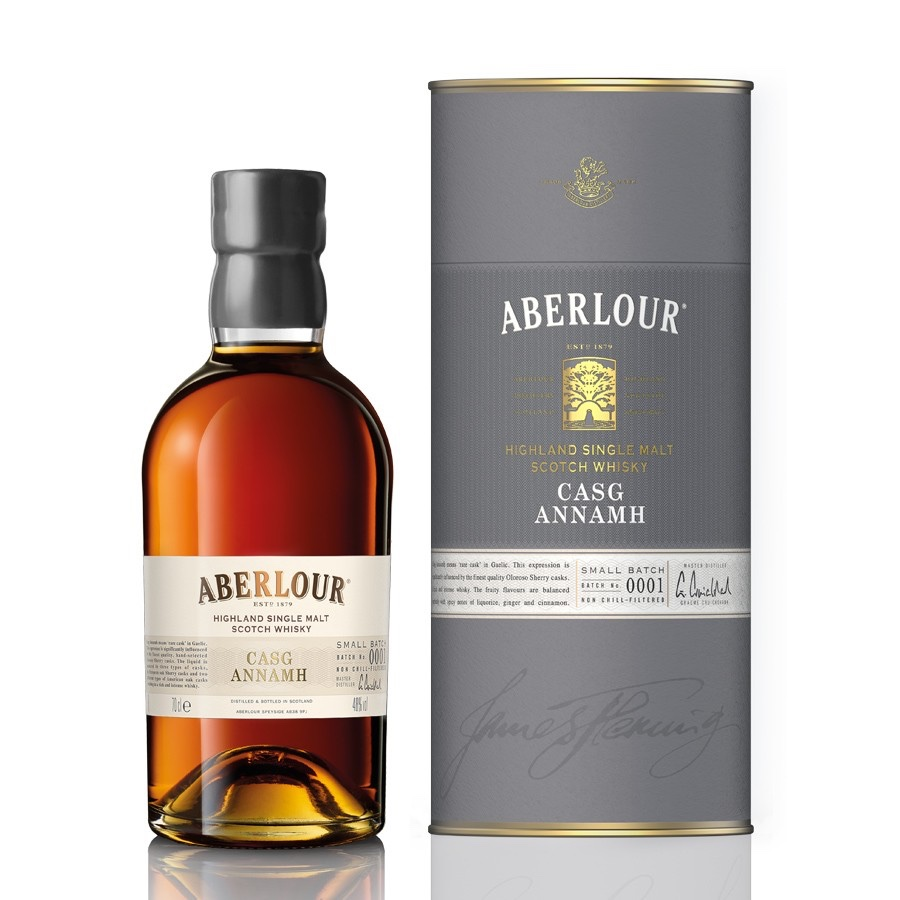 Aberlour Casg Annamh has been aged in oloroso Sherry casks